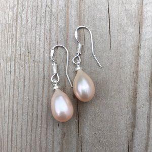 New Freshwater Pearl Drop Earrings
